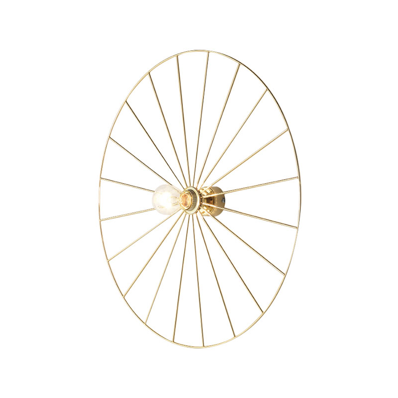 Sienas lampa Wheel Gold/Chrome