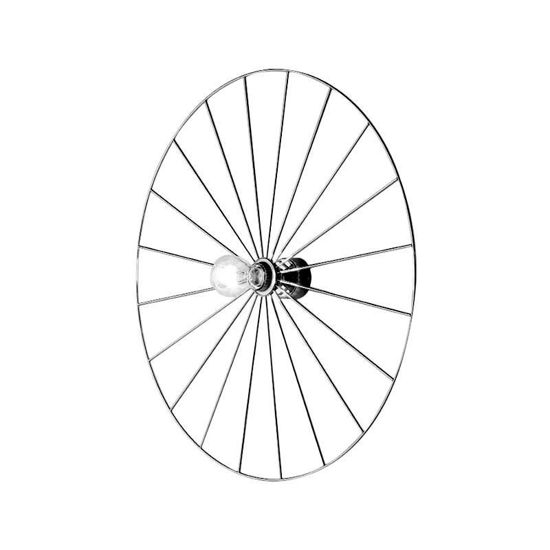 Sienas lampa Wheel Black/White