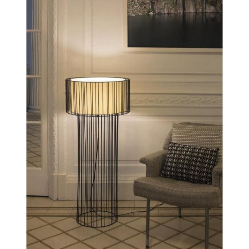 Floor lamp LINDA Black