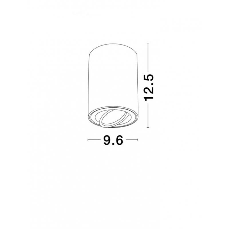 Surface lamp GOZZANO Ø 9,6 cm