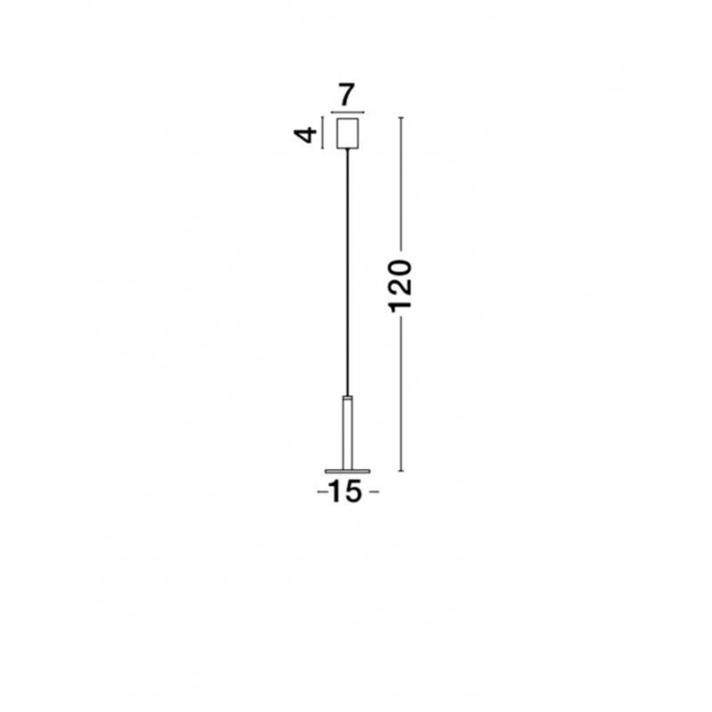 Pendant luminaires Palencia Ø 15 cm