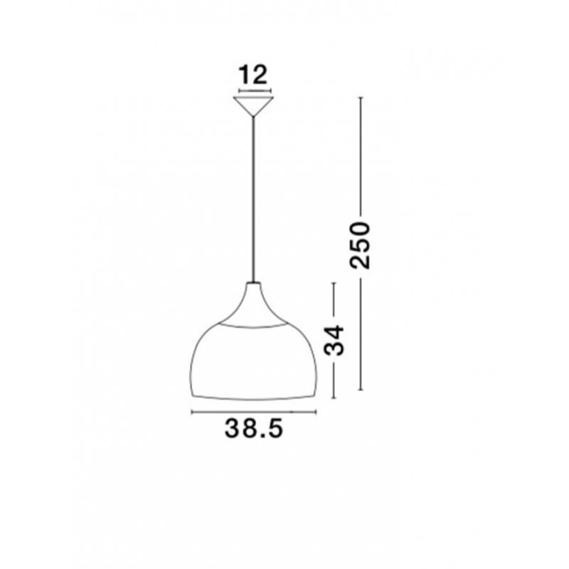 Pendant luminaires Mia Ø 38,5 cm