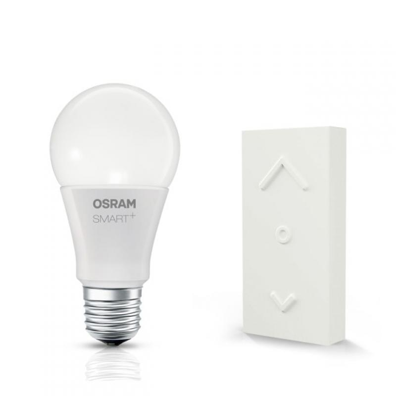 Wireless wall switch + LED bulb E27, 10W