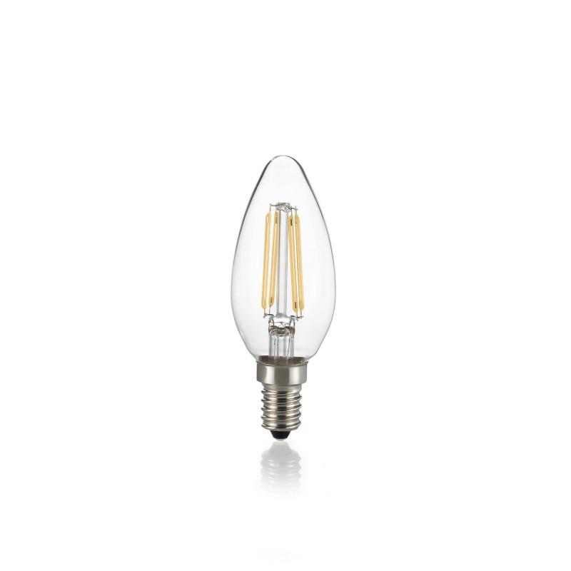 LED Bulb E14 4W OLIVA TRASPARENTE 3000K