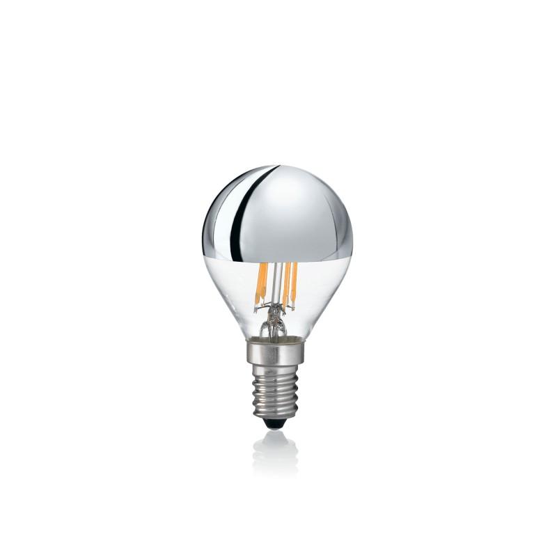 LED Bulb E14 4W SFERA CROMO 3000K