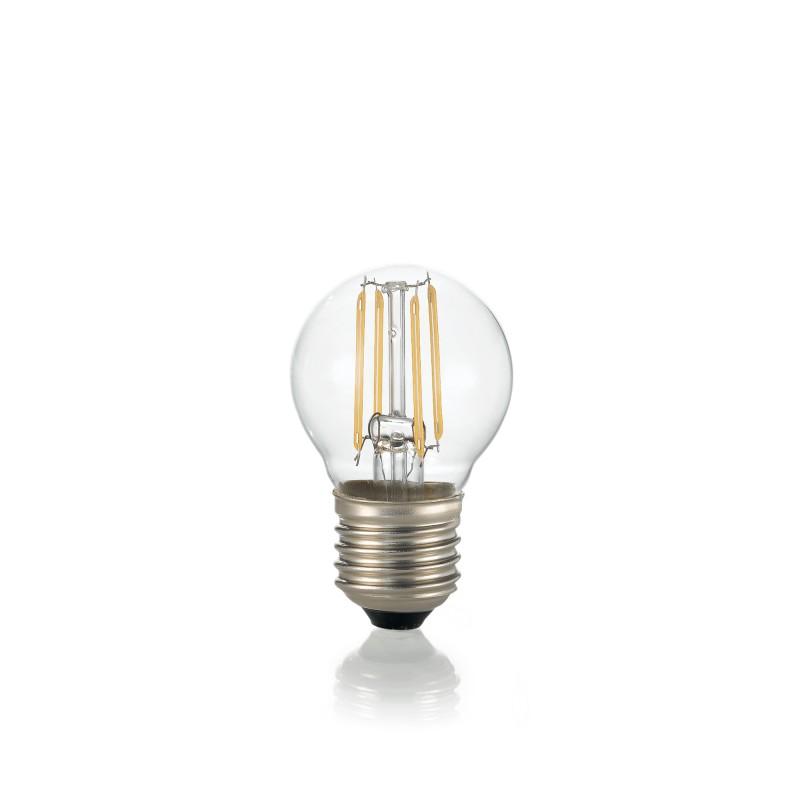 LED Bulb CLASSIC E27 4W SFERA TRASPARENTE 3000K
