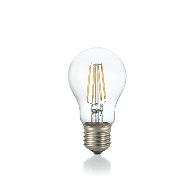LED Bulb CLASSIC E27 8W GOCCIA TRASPARENTE 3000K
