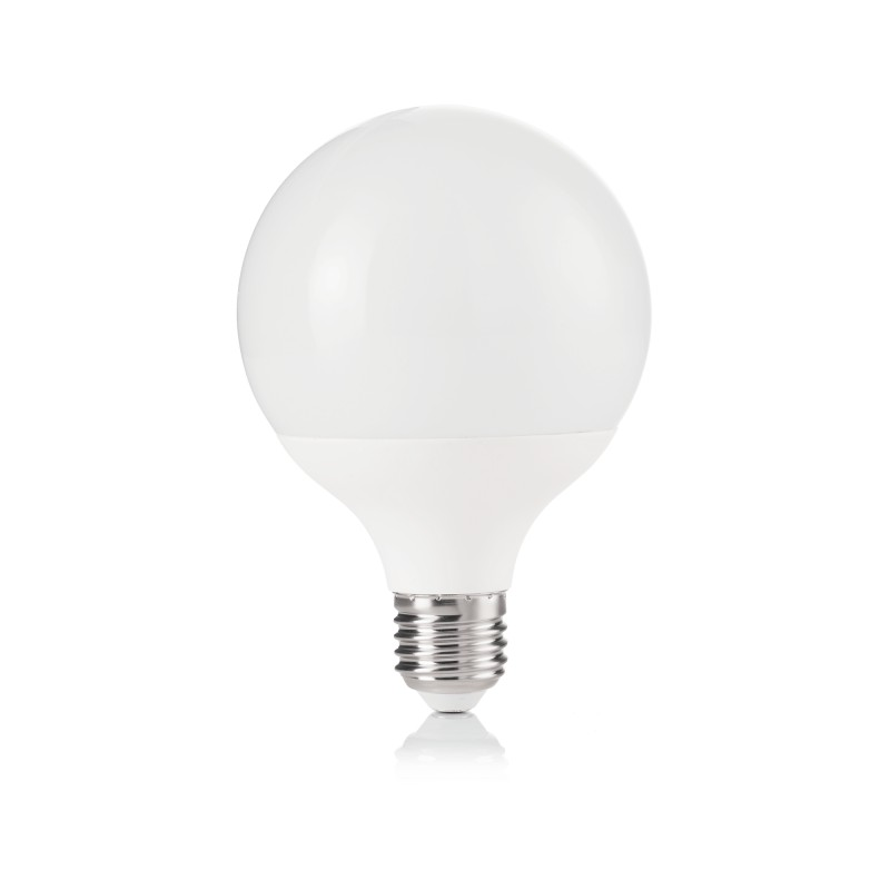 LED Bulb LAMPADINA POWER E27 12W GLOBO SMALL 3000K, Ø 9,5 cm