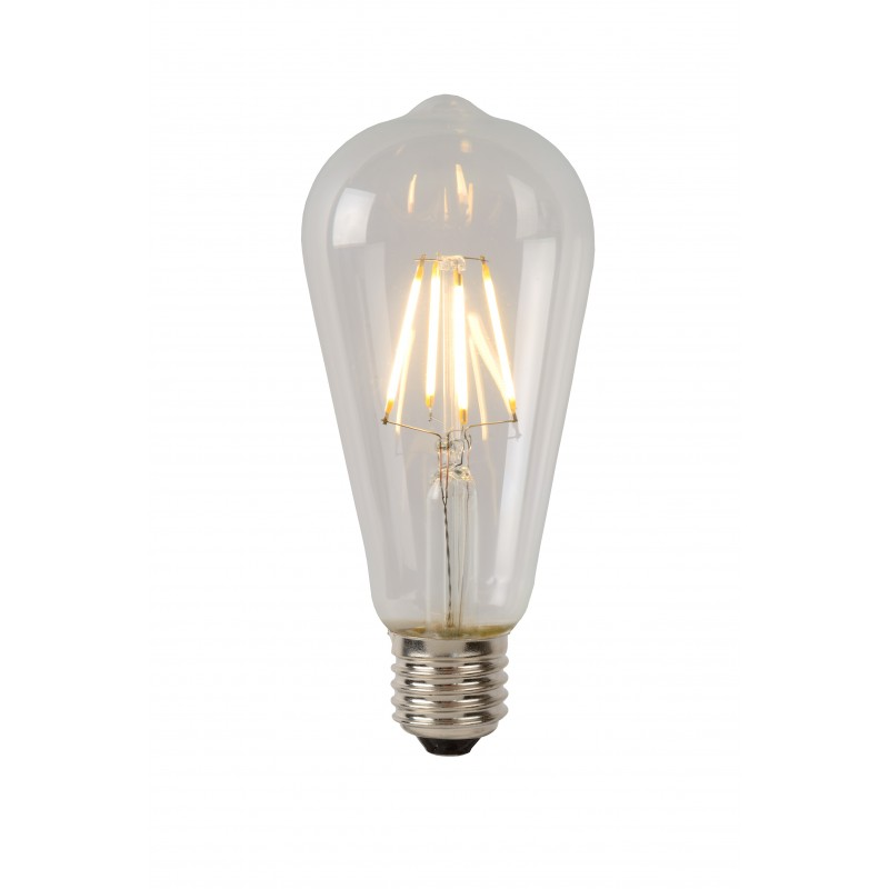 LED Bulb E27, Ø 6,4 cm - Transparant