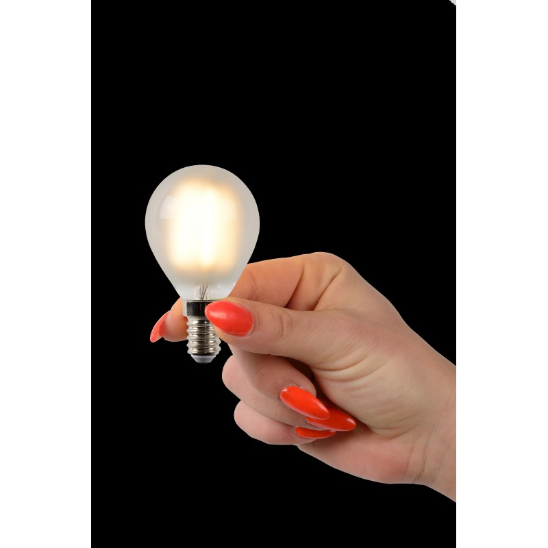 LED Bulb E14, Ø 4,5 cm frosted