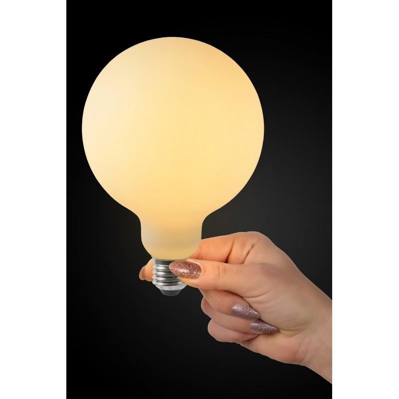 LED Bulb E27,Ø 12,5 cm - Opal