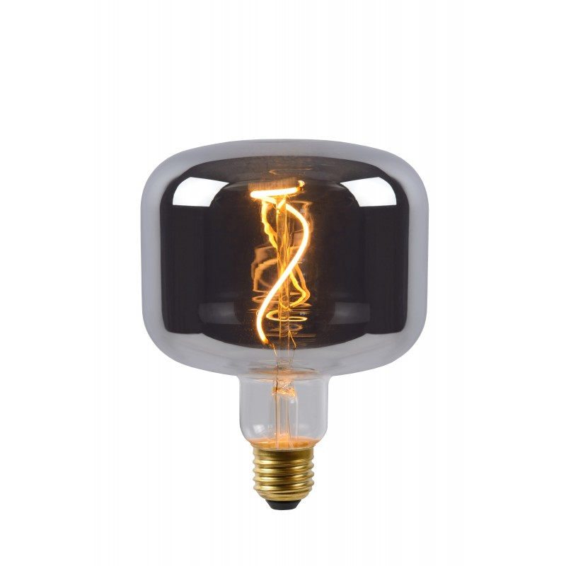 LED Bulb E27, Ø 11,8 cm - Smoke Grey