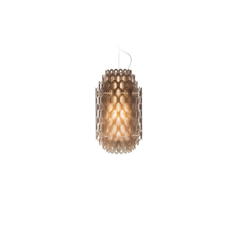 Pendant lamp CHANTAL White Small