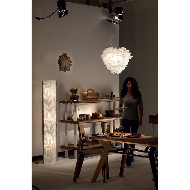 Pendant lamp VELI Large white