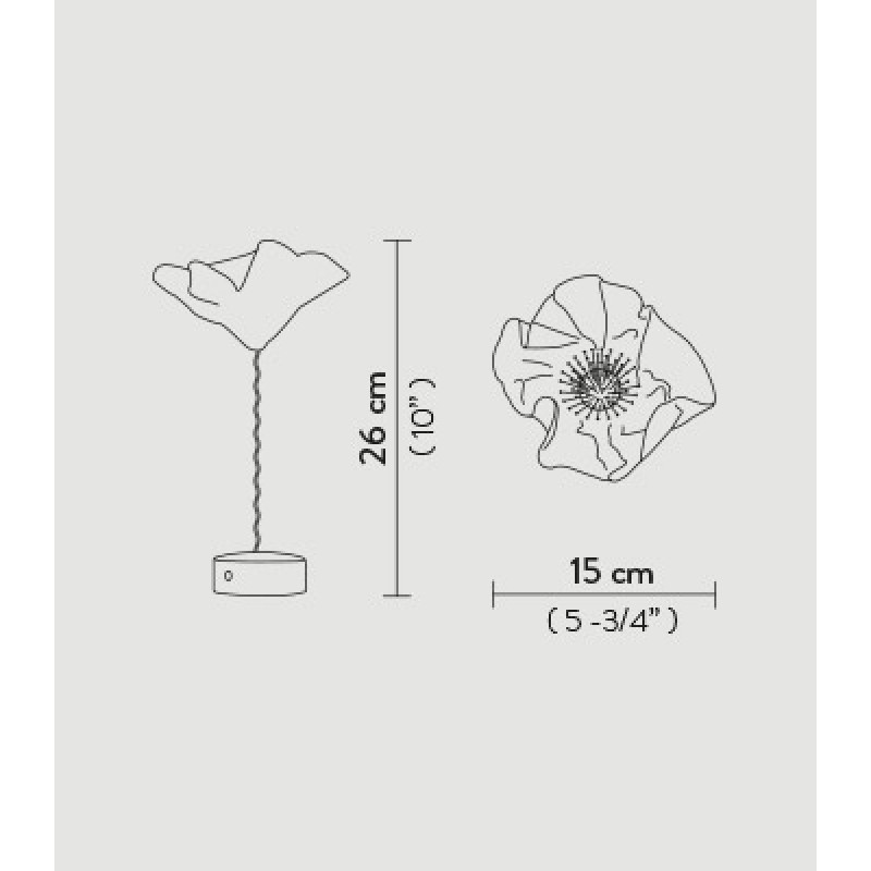 Table lamp LAFLEUR